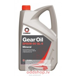 COMMA GEAR OIL EP80W90 GL5 5L