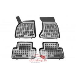 Grīdas paklāji (gumija, 4gab., krāsa melns) AUDI A4, A5 11.07-01.17 sedans