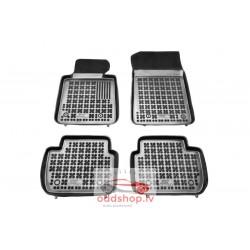 Grīdas paklāji (gumija, 4gab., krāsa melns) BMW 3 (E46), 3 (E90), 3 (E91) 02.98-12.12 kombi/sedans