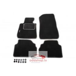 Grīdas paklāji (komplekts, velūra, 4gab., krāsa melns) BMW X5 (E53) 01.00-10.06 off-road/SUV