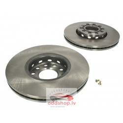 AUDI 80 91 - 94 bremžu diski aizmugures komplekts 2gab. 2.6 BOSCH